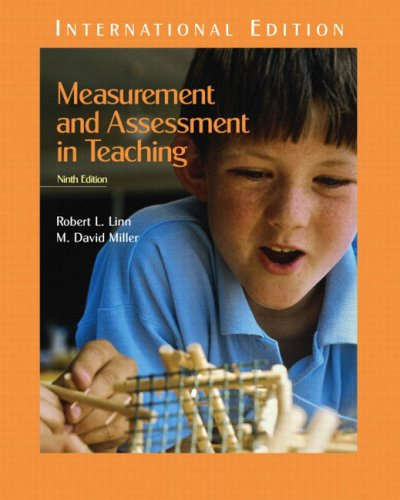 9780131273931: Measurement and Assessment in Teaching