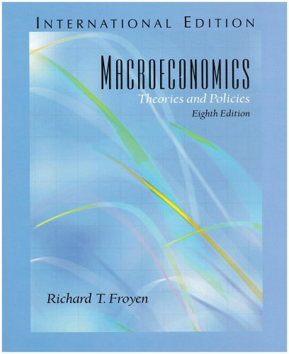 9780131273955: Macroeconomics: Theories and Policies