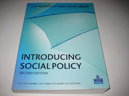 9780131274624: Introducing Social Policy