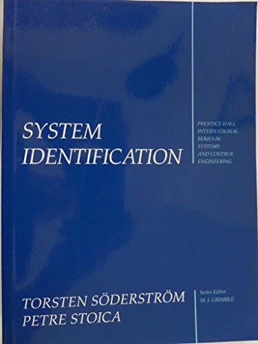 9780131276062: System Identification (Prentice Hall International Series in Systems and Control Engineering)