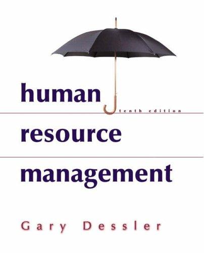9780131276772: Human Resource Management: International Edition