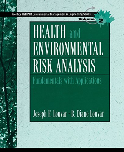 9780131277397: Health and Environmental Risk Analysis Volume 2: Fundamentals with Applications (Paperback)