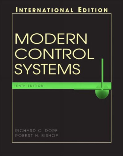 9780131277656: Modern Control Systems (International Edition)