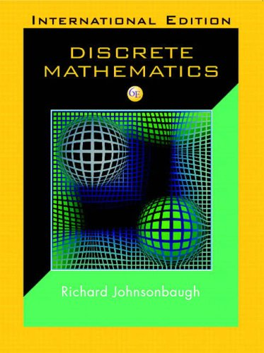 DISCRETE MATHEMATICS: RICHARD (DEPAUL UNIVERSITY, USA) JOHNSONBAUGH