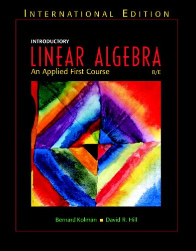 9780131277731: Introductory Linear Algebra: An Application-Oriented First Course