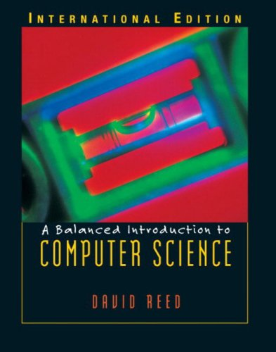 9780131277748: A Balanced Introduction to Computer Science