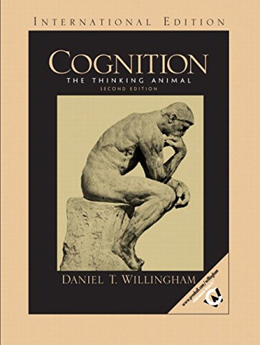 9780131279094: Cognition: The Thinking Animal