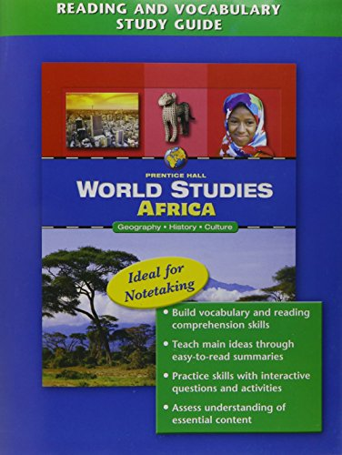 9780131280021: WORLD STUDIES: AFRICA READING AND VOCABULARY STUDY GUIDE ENGLISH 2005C