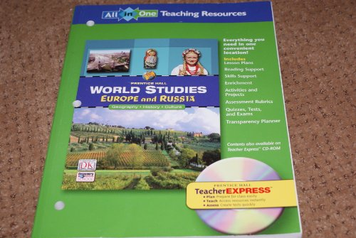 9780131280151: World Studies: Europe and Russia : All-in-One Teaching Resources