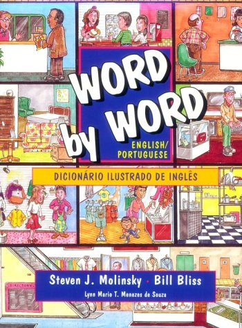 9780131280182: Word by Word Picture Dictionary: Portuguese/English Edition