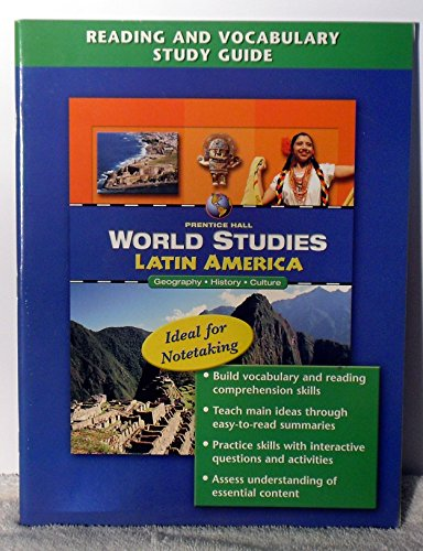 9780131280229: World Studies: Latin America Reading and Vocabulary Study Guide English 2005c