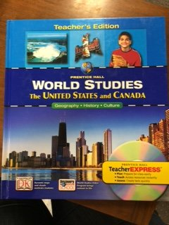 9780131280328: World Studies: the United States and Canada