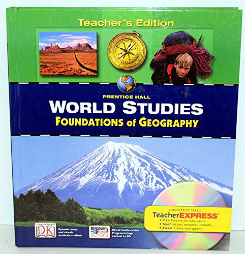 9780131280335: Prentice Hall World Studies: Foundations of Geography, Teacher's Edition