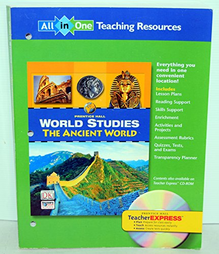 9780131280397: World Studies: The Ancient World (All in One: Teaching Resources)