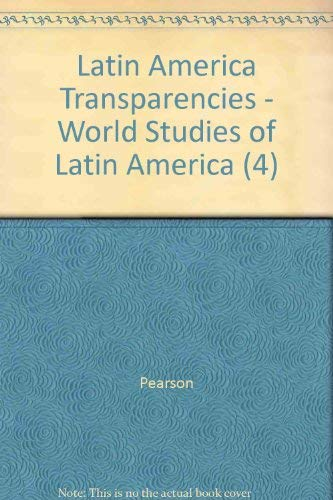 9780131280519: Latin America Transparencies - World Studies of Latin America (4)