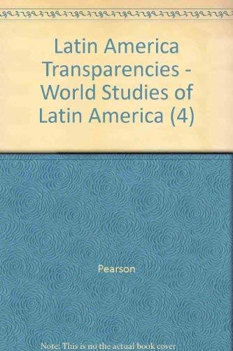 9780131280519: Latin America Transparencies - World Studies of Latin America (4)