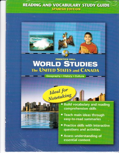 9780131280533: The United States and Canada Transparencies (World Studies Geography History Culture)