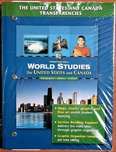 The United States and Canada Transparencies (World: Prentice Hall