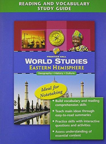 9780131280762: World Studies: Eastern Hemishpere Reading and Vocabulary Study Guide English 2005c