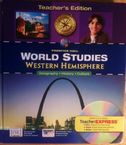 9780131280823: World Studies: Western Hemisphere PRENTICE HALL (Teacher's Edition)