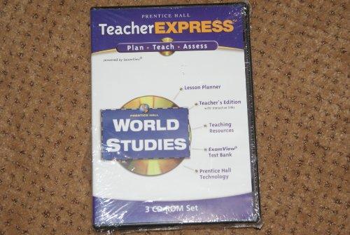 9780131281394: TeacherExpress ISBN 0131281399 Prentice Hall World Studies 3 CD-ROMs Plan Teach Assess
