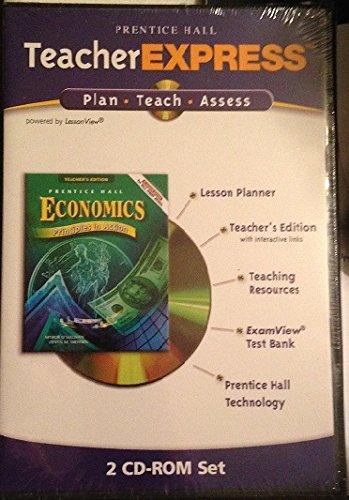 9780131281639: Teacher Express Teachers Edition Test Bank, Teaching Resources, Lesson Planner (Economics Principles in Action)