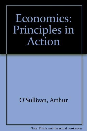 9780131281776: Economics: Principles in Action