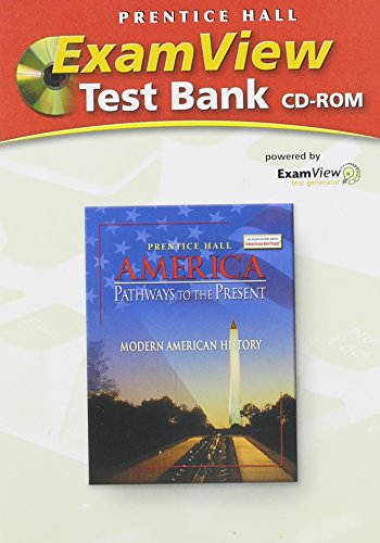 9780131282247: Exam View Test Bank CD-ROM for America Pathways to the Present: Modern American History