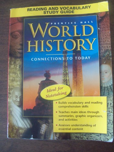9780131283107: WORLD HISTORY: CONNECTIONS TO TODAY REVISED SURVEY ENGLISH READING AND  VOCABULARY STUDY GUIDE 2005C