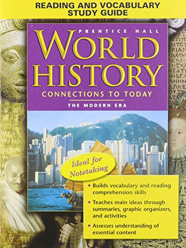 9780131283121: Reading and Vocabulary Study Guide (Prentice Hall World History Connections to Today the Modern Era)