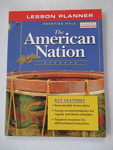 9780131283671: Lesson Planner (The American Nation)
