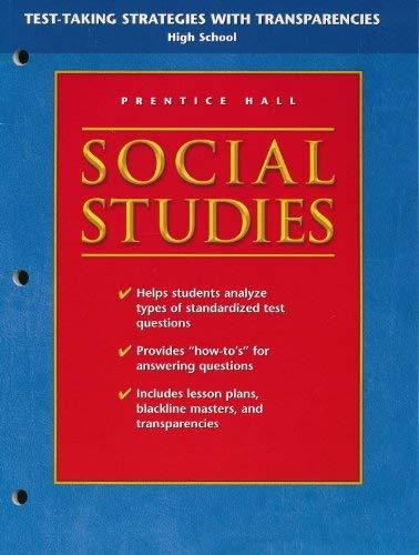 9780131283855: Test Taking Strategies with Transparencies (Social Studies, High School)