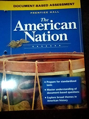 9780131283947: Document-Based Assessment (The American Nation)