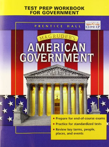 9780131283978: Test Prep Workbook to Accompany Magruder's American Government