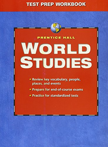 9780131284203: WORLD STUDIES TEST PREP WORKBOOK 2005C