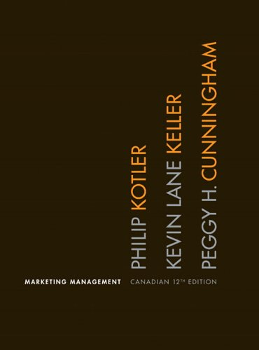 9780131286405: Marketing Management, Canadian Twelfth Edition