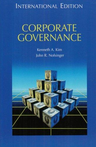 9780131287327: Corporate Governance