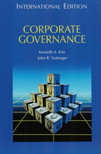 9780131287327: Corporate Governance: International Edition