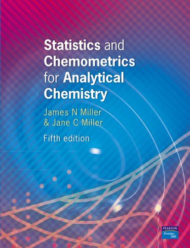 9780131291928: Statistics and Chemometrics for Analytical Chemistry