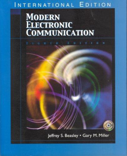 9780131293021: Modern Electronic Communication