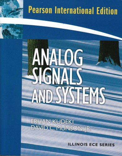 9780131293267: Analog Signals and Systems: International Edition