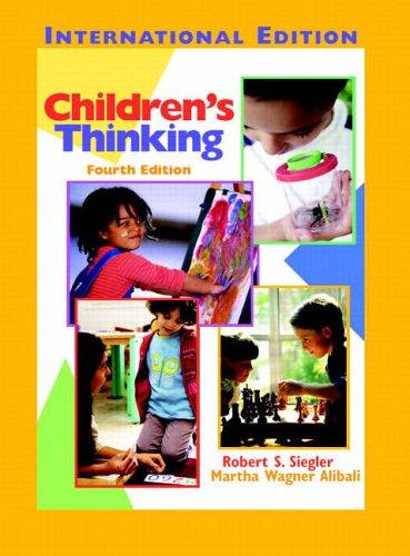 9780131293335: Children's Thinking: International Edition