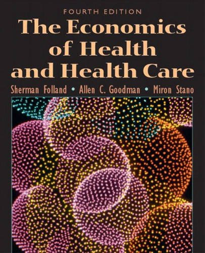 9780131293441: The Economics of Health and Health Care (Pie)