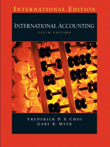 9780131293571: International Accounting