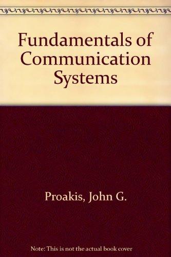 9780131293595: Fundamentals of Communication Systems: International Edition