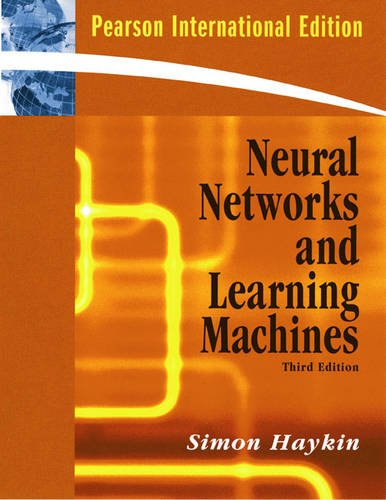 9780131293762: Neural Networks And Learning Machines - 3ª Edición