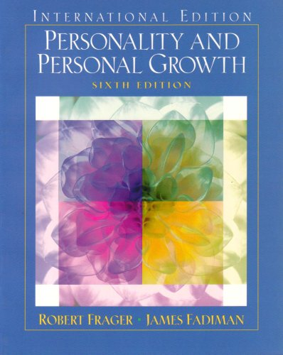 9780131293809: Personality and Personal Growth: International Edition