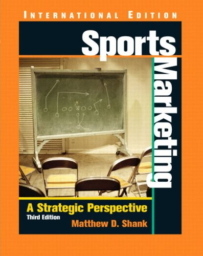9780131293854: Sports Marketing: A Strategic Perspective: International Edition