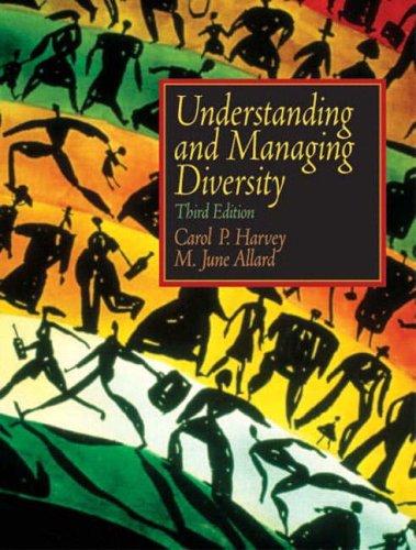 9780131293915: Understanding & Managing Diversity (3rd, 05) by Harvey, Carol - Allard, M June [Paperback (2004)]