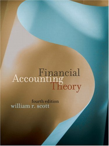 9780131294912: Financial Accounting Theory (4th Edition)